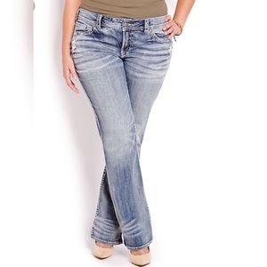 Silver Suki Factory Faded Jeans Size W31 X L30